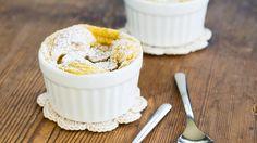 Vegan + Glutenfrei: Süßes Polentagratin mit Bananen | http://eatsmarter.de/rezepte/suesses-polentagratin-mit-bananen-vegan