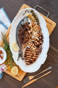 La mia grigliata di pesce misto per www.ifood.it