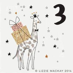 ATELIER RUE VERTE , le blog: Les jolies choses de Noël #12 / Les illustrations de l'Avent de Lizzie Mackay /
