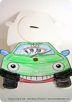 riciclo disco orario