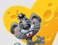 """Check out new work on my @Behance portfolio: """"happy Mouse"""" http://on.be.net/1hK4Crs"""