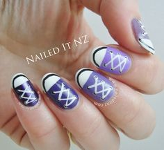 Converse Nail Art Tutorial | Nailed It NZ on YouTube