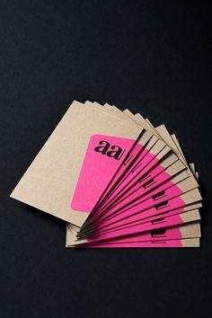 Business card + sticker