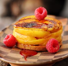 Caramelized Peach Pastry by Francois Payard