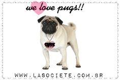 la société + pug love