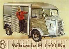 Citroen Type-H Van  Our milkman owned this kind of car
