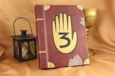 Gravity Falls Book / Kindle / iPad / Tablet Cover / Journal Book 3 Replica (Custom Cover - Inspired by Gravity Falls)