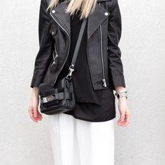 Leather Jacket via @figtny #aninebing