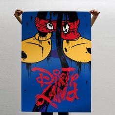 "Graphic Art \\// ""Dirty land"" by Gustavo Bockos @ Empty Frame"
