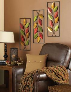 Beautiful Fall Decor for Living or Family Room