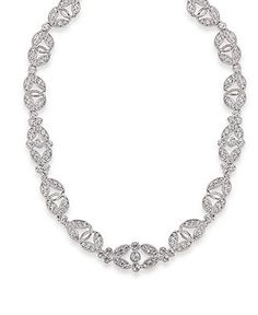 Carolee Necklace, Glass Stone Ornate Collar - Fashion Necklaces - Jewelry & Watches - Macy's
