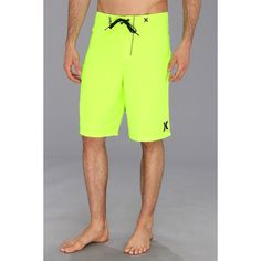 Hurley One Only Boardshort 22 (Volt) Men's Swimwear (105 BRL) ❤ liked on Polyvore featuring men's fashion, men's clothing, men's swimwear, mens boardshorts, men's apparel, mens board shorts swimwear, mens swimwear and hurley mens apparel