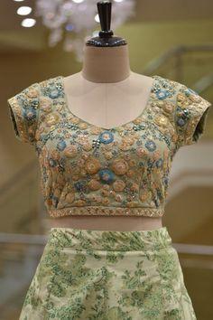 Buy Light Green Dori Embroidered Raw Silk Bridesmaids Lehenga Online Lehenga Online, Dory, Bridesmaids, Two Piece Skirt Set, Silk, Blouse, Green, Skirts, Stuff To Buy