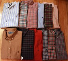 Polo Ralph Lauren Shirt Big and Tall, Classic-Fit Rustic Plaid ...