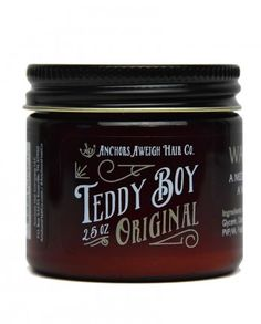 Teddy Boy Products, by Anchors Aweigh Hair Co., in Knoxville, TN is a fast-growing company dedicated to all-natural hair care for men.