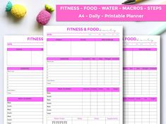 Ideas fitness planner 2019 for 2019 Blog Planner, Weekly Planner, Fitness Planner, Workout Planner, Portion Control Diet, Control 4, Meal Planner Printable, Printables, Week Planner