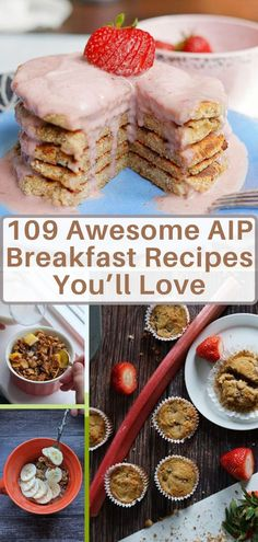 Figuring out breakfasts on the AIP diet can feel a little weird at first and you may be wondering what the heck to eat if you can't have grains or eggs or dairy. Luckily, there are tons of awesome AIP Breakfast options out there! Regardless of which breakfast food you're looking for, there's a good chance you will find it in this huge roundup post. #aipbreakfast #paleobreakfast #glutenfreebreakfast #dairyfree #eggfreebreakfast #healthybreakfast #autoimmuneprotocol Breakfast Soup, Chicken Breakfast, Sweet Potato Breakfast, Breakfast Bars, Breakfast Cookies, Breakfast Burritos, Breakfast Options, Paleo Coffee Cake, Low Sugar Smoothies