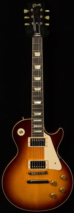 Gibson Custom Historic Wildwood Spec 1958 Les Paul   Cognac Burst   Wildwood Guitars