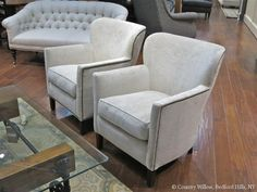 Chairs, Recliners, Slipcovered Chairs, Swivel Gliders, Ottomans   Country Willow