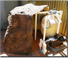 Universal Realistic Rock Swimming Pool Pump Covers - Decorative Rocks