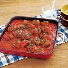 ミートボールのトマト煮込み (レシピ:ゆとりの空間)