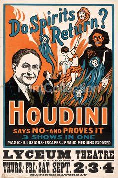 Do Spirits Return?, Houdini
