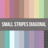 Small Stripes Diagonal Digital Background Paper - Commercial Use Allowed