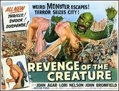 Znalezione obrazy dla zapytania vintage horror poster