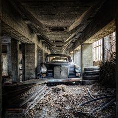 Seen in an abandoned coal mine in Belgium.