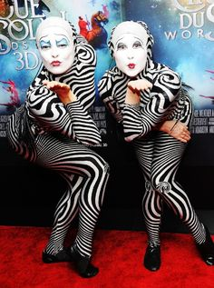 Cirque du Soleil: Worlds Away.  They look like a part of the Night Circus