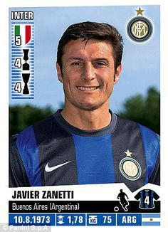 J. Zanetti, Inter Milan, 2012-13