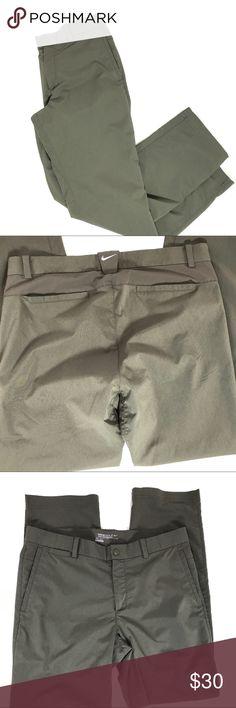 "Nike Golf Tour Performance Dri Fit Pants Men 32x30 Nike Golf Tour Performance Dri Fit Dark Green Pants Men's 32x30  Excellent no rips and no stains  Measurements  Waist- 32""  Inseam 30"" Nike Pants"
