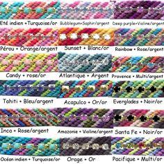 KIT Bracelet Copacabana -Colours Ideas