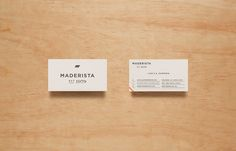 Maderista designed by Anagrama
