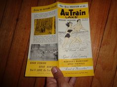 AuTrain, Michigan, Upper Peninsula vintage travel brochure. US $9.99 Used in Collectibles, Souvenirs & Travel Memorabilia, United States