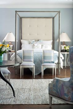 Bedroom Decorating Ideas: Modern and Sophisticated - Traditional Home® Pastels