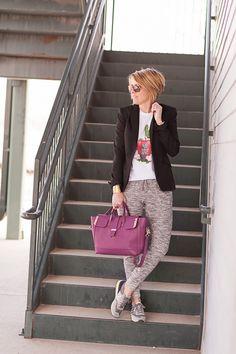 Pin It Pin It Pin It Pin It pants (Target in store, love thisVERSION), jacket (Zara…