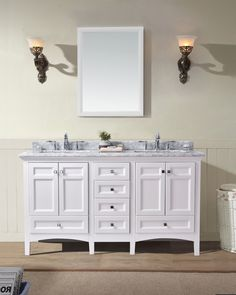 1 499 99 60 Luz Double Sink Bathroom Vanity Set