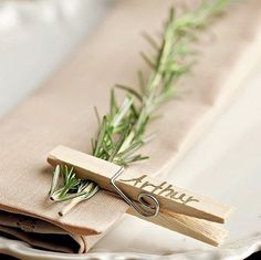Image result for table place card ideas
