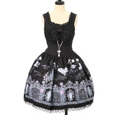 ♡ ALICE and the PIRATES ♡ Vampire Requiem jumper skirt http://www.wunderwelt.jp/products/detail12595.html ☆ ·.. · ° ☆ How to order ☆ ·.. · ° ☆ http://www.wunderwelt.jp/user_data/shoppingguide-eng ☆ ·.. · ☆ Japanese Vintage Lolita clothing shop Wunderwelt ☆ ·.. · ☆