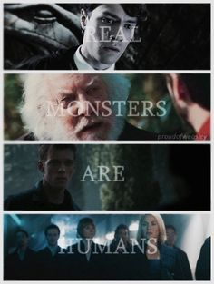 So true / books / FANDOMS UNITE / Monsters / Evil / Humans <--- why the heck is Luke there?