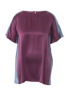 Викрійка Блуза прямого крою в стилі колор-блокінг: купити викрійки, пошиття і моделі | Burdastyle