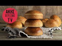 Σπιτικά ψωμάκια για burger | Kitchen Lab by Akis Petretzikis - YouTube