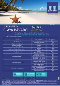 Super Oferta Playa Bávaro Cadenas Sept y Octubre 1 ultimo minuto - http://zocotours.com/super-oferta-playa-bavaro-cadenas-sept-y-octubre-1-ultimo-minuto/