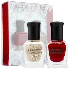 Deborah Lippmann nail polish set, $17, deborahlippmann.com. COURTESY