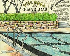Tommy Kane's Art Blog: Poolside