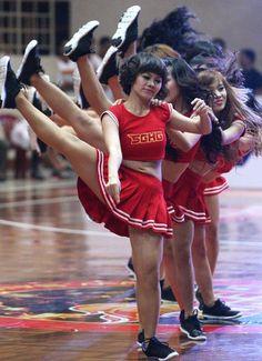 Heat cheerleaders more than just HotGirls - Heat cheerleaders more than just HotGirls - News from the Saigon Times
