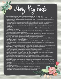 mary kay facts good to know - Google Search I love my Mary Kay www. Beauty Consultant, Independent Consultant, Mary Kay Cosmetics, Makeup Cosmetics, Mary Kay Ash, Selling Mary Kay, Mary Kay Party, Mary Kay Makeup, Community Coffee