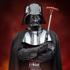 ThinkGeek released an officially licensed Star Wars Darth Vader Lightsaber Barbecue Fork that has a hilt modeled after the feared Sith Lord's iconic Darth Vader Star Wars, Darth Vader Lightsaber, Lightsaber Hilt, Barbecue, Chemical Brothers, Star Wars Kitchen, Saga, Sabre Laser, Samuel Jackson