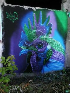 COLORFUL ROOSTER...Artist: Fabio Carneiro '13